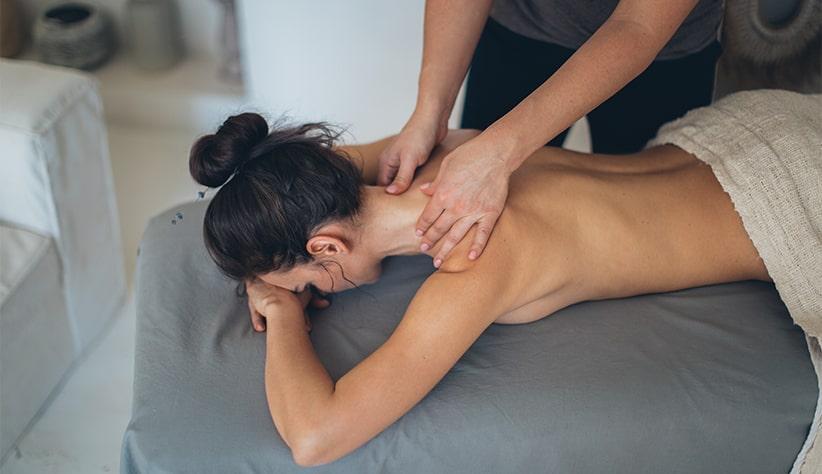 Ontspanningsoefening Massage